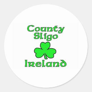 County SLigo, Ireland Round Sticker
