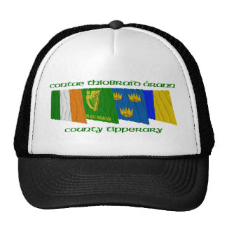County Tipperary Flags Trucker Hat