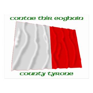 County Tyrone Colours Postcard
