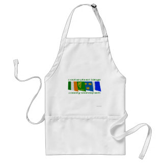 County Waterford Flags Adult Apron