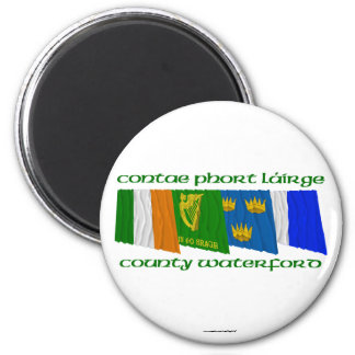 County Waterford Flags Magnet