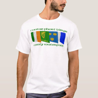 County Waterford Flags T-Shirt
