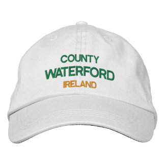 County Waterford Ireland Embroidered Hat