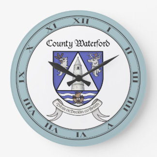County Waterford Wall Clock