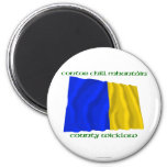County Wicklow Colours Fridge Magnet