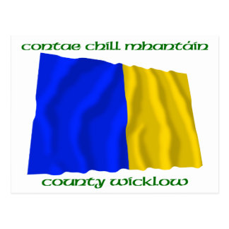 County Wicklow Colours Postcard