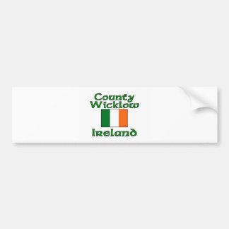 County Wicklow, Ireland Bumper Sticker