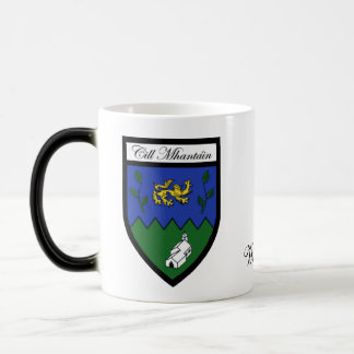 County Wicklow Map & Crest Mugs