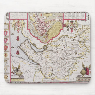 Countye Palatine of Chester, engraved by Mousepad