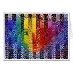Counundrum I - Mujer del arco iris Felicitaciones