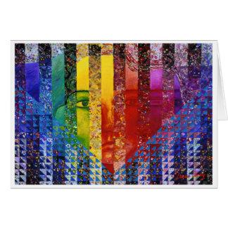 Counundrum I – Rainbow Woman Card