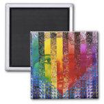 Counundrum I – Rainbow Woman Magnet