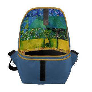 Counundrum I – Rainbow Woman Messenger Bags