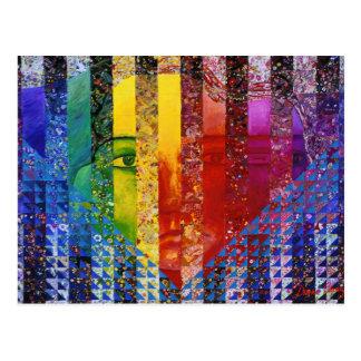 Counundrum I – Rainbow Woman Postcard