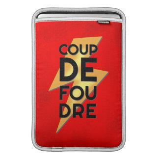 Coup de Foudre - francés del rayo Funda Macbook Air