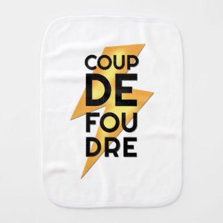 Coup de Foudre - Lightning Strike French Burp Cloth