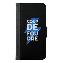 Coup de Foudre - Lightning Strike French Samsung Galaxy S6 Wallet Case