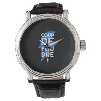 Coup de Foudre - rayo francés de la expresión Relojes