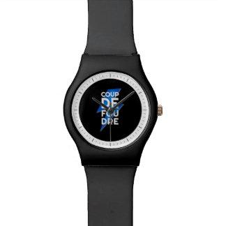 Coup de Foudre - rayo francés de la expresión Reloj De Mano