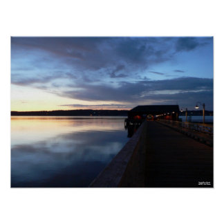 Coupeville at Sunset Poster