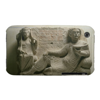 Couple at a banquet, tomb find from Palmyra, Syria Case-Mate iPhone 3 Case