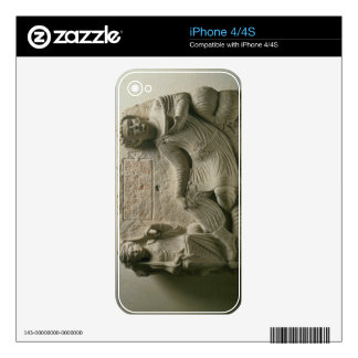 Couple at a banquet, tomb find from Palmyra, Syria Decal For The iPhone 4S