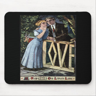 Couple at the Love Gate Mousepad