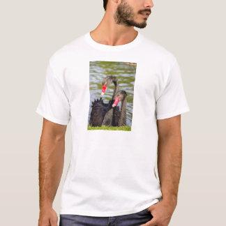Couple black swans T-Shirt