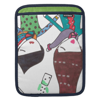 couple bubble tea sleeve for iPads