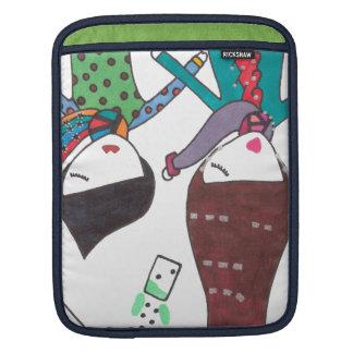 couple bubble tea sleeves for iPads