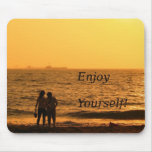 Couple by the Beach Mouse Pad