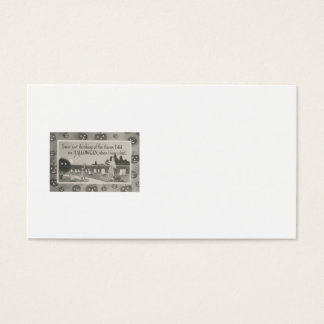 Couple Cemetery Graveyard Ghost Prank Business Card