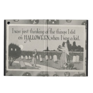 Couple Cemetery Graveyard Ghost Prank Case For iPad Air