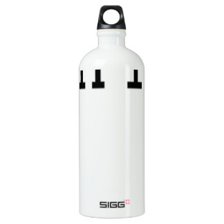 Couple Chip off the old block T Shirt K.png Aluminum Water Bottle