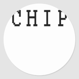 Couple Chip off the old block T Shirt K.png Classic Round Sticker