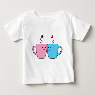 Couple Coffee Mugs Baby T-Shirt