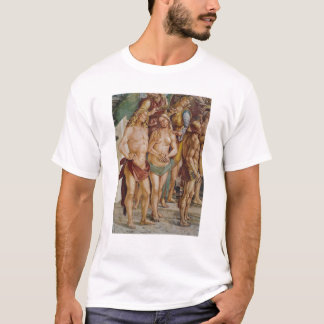 Couple crowned by an angel, detail T-Shirt
