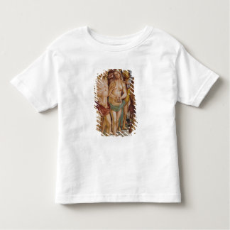Couple crowned by an angel, detail toddler t-shirt