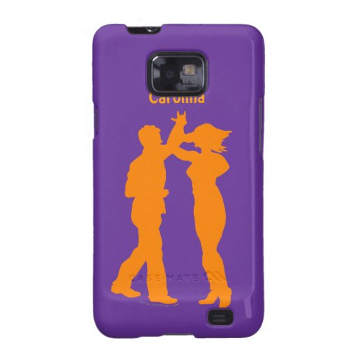 Couple Dance Spin Silhouette Personalized Cover Galaxy S2 Cover