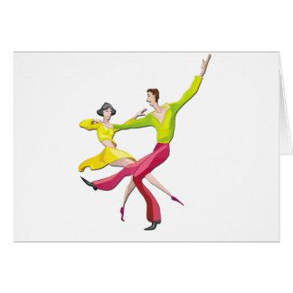Couple Dancing Customizable Cards