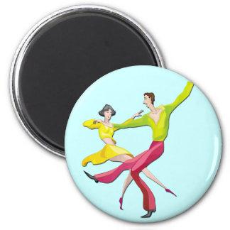 Couple Dancing Fridge Magnets