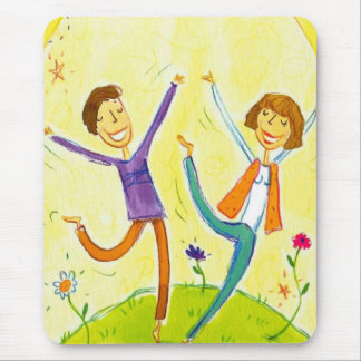 couple dancing mouse pad