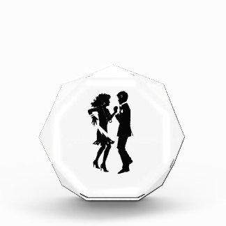 Couple Dancing Silhouette Acrylic Award