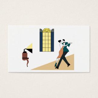 couple dancing tango business card