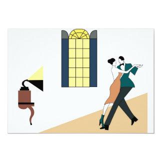couple dancing tango card