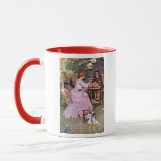 Couple Dining Al Fresco Mug