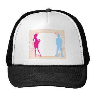 couple expecting baby trucker hat