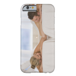 Couple getting massages barely there iPhone 6 case
