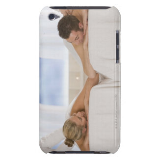 Couple getting massages barely there iPod case