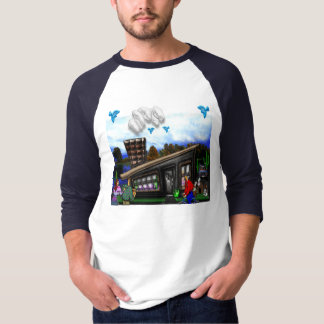Couple Going Home Rover Jumping T-Shirt